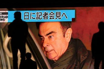 Carlos Ghosn Awaits Release From Jail After Posting Bail