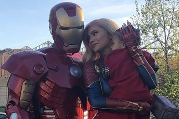 Kylie Jenner and Travis Scott Suit Up as Captain Marvel and Iron Man For Avengers: Endgame