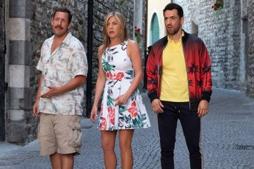 Adam Sandler and Jennifer Aniston Team Up to Solve a Whodunit in Netflix's Murder Mystery