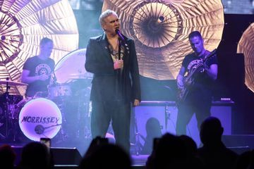 Morrissey kicks off Broadway residency with a full-blown rock-and-roll concert