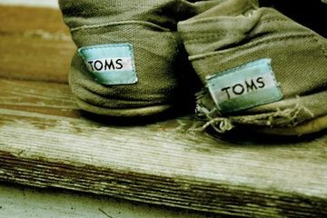 Ethical shoe company TOMS moves beyond the buy one/give one model
