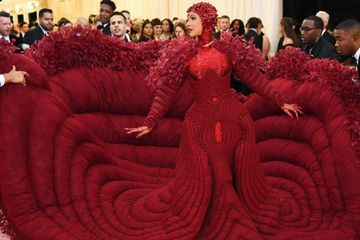We Are More Than Prepared to Take a Long Nap in Cardi B's Extravagant Met Gala Gown