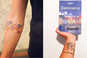 Attention Travelers, These 100+ Map Tattoos Will Give You Major Wanderlust