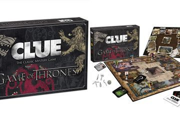 This Game of Thrones Clue Board Is Double-Sided, So You Can Play All Over Westeros