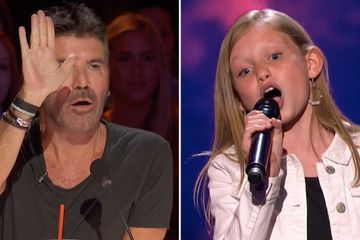 Déjà Vu! Simon Cowell Stops This 12-Year-Old's Performance and Asks Her to Sing Without Music