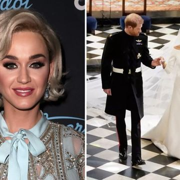 "Katy Perry Said Meghan Markle Should Have Done ""One More Fitting"" Of Her Wedding Dress"