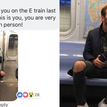 "Model And ""ANTM"" Winner Nyle DiMarco Hilariously Caught A Woman Taking Creeper Photos Of Him On The Subway"