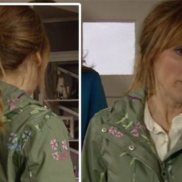 Emmerdale Laurel Thomas coat: Charlotte Bellamy's character's Joules coat leaves ITV fans desperately hunting for green waterproof jacket for weeks