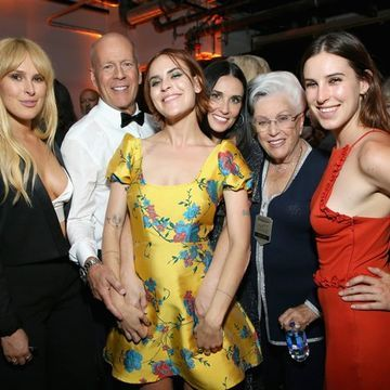 Bruce Willis Parties With Some of His Best Girls After Getting Roasted by Demi Moore