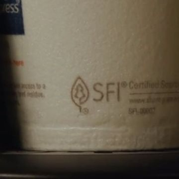 Look for the label: the SFI logo is a sign of sustainable forestry
