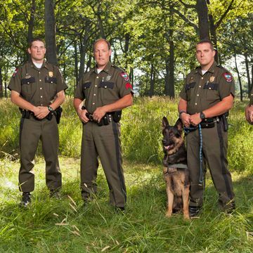 Conservation officers save nature from its worst enemy — mankind