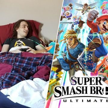Nintendo lets fan with terminal cancer play 'Super Smash Bros. Ultimate' early (9 Photos)