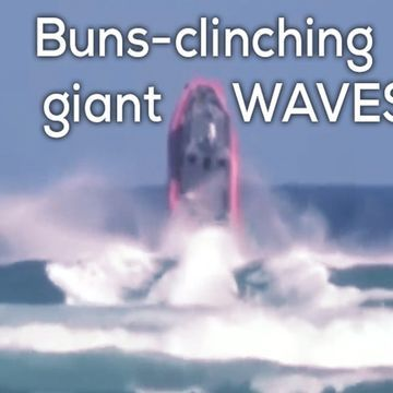 Waves eating boats for breakfast (20 GIFs)