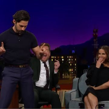 Milo Ventimiglia Gave James Corden a Lap Dance, and This Is What Must-See TV Looks Like
