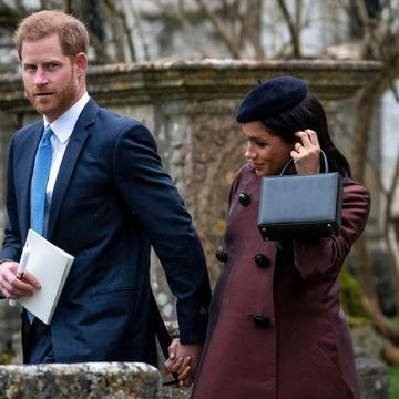Harry and Meghan Step Out as He Becomes a Godfather, Weeks Before Becoming a Father For Real