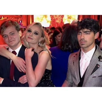 "Sophie Turner Poses With Her Former Game of Thrones Fiancé in Front of Joe Jonas: ""Awkward"""