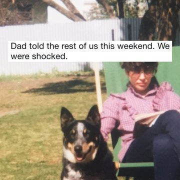 Family secret about beloved dog comes to light (20 Photos and GIFs)