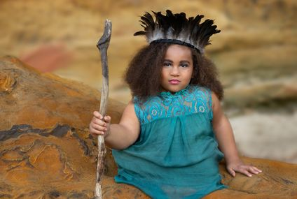 "This Little Girl Was Born Without Legs But She Kicks Ass In This ""Warrior Queen"" Photo Shoot"