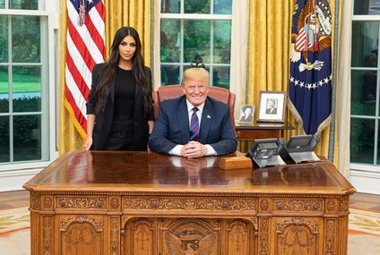 Kim Kardashian wore a $4K suit to meet with Trump