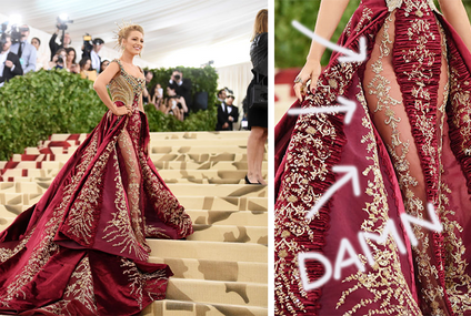 Blake Lively's Killer Met Gala Dress Took Over 600 Hours To Make