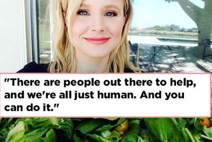 Kristen Bell Has Great Advice For Anyone Who's Dealt With Anxiety Or Depression