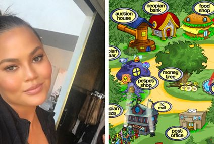 Chrissy Teigen Is Playing Neopets Again And It's Giving Me Intense Flashbacks