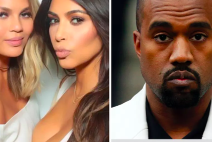 Kim K And Chrissy Teigen Just Roasted Kanye West And It's Amazing