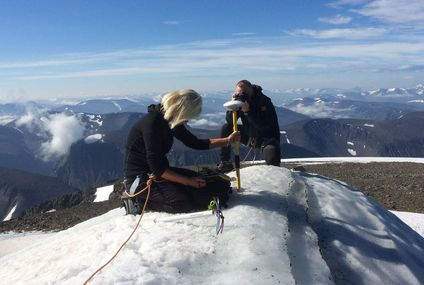 Sweden's Tallest Peak Shrinks in Record Heat