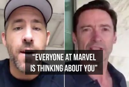 Marvel actors send moving messages for fan with terminal cancer