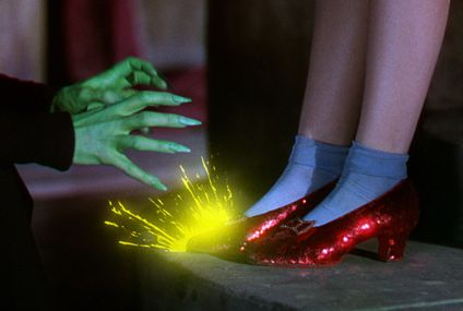 Dorothy's stolen ruby red slippers found after more than a decade