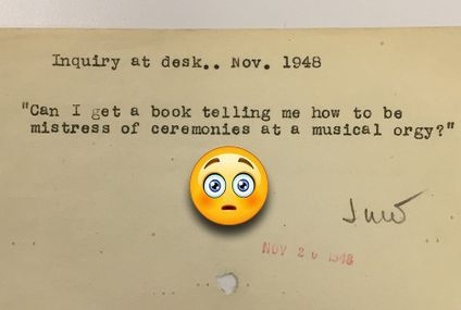 Real questions posed to the NY Public Library pre-internet are timeless (22 Photos)