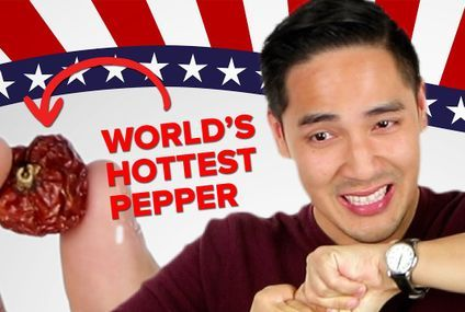 I Ate The Worlds Hottest Pepper While Explaining Midterm Elections
