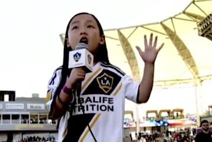 7-year old's National Anthem is a breath of fresh air (Video)