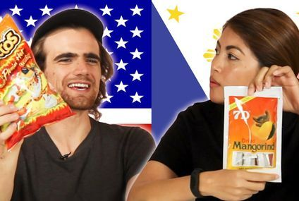 Filipinos & Americans Swap Snacks