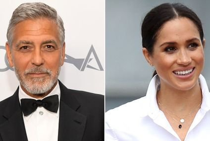"George Clooney Demands Respect For Meghan Markle: She's ""Been Pursued and Vilified"""
