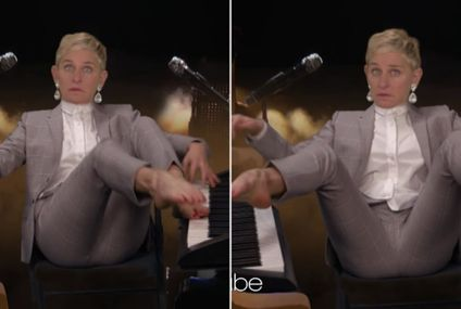 Alicia Keys May Be Able to Simultaneously Play 2 Pianos, but Ellen DeGeneres Can Do THIS