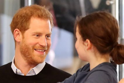 "While Meghan Has Her Baby Shower, Prince Harry's Getting in Some Last Minute ""Parenting"" Practice"