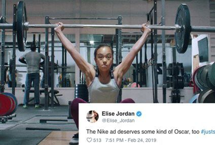 "Serena Williams Called Out ""Crazy"" Gender Stereotypes in This Nike Ad, and I'm Cheering"