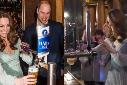 Seeing Will and Kate Pull Perfect Pints Makes Me Think They Were *Really* Fun in College