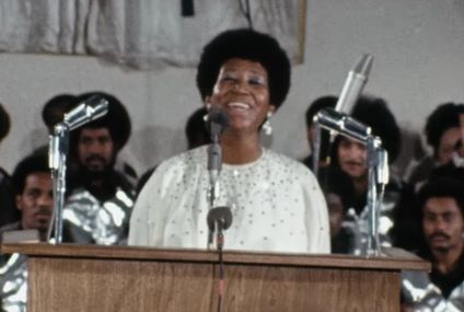 Aretha Franklin Takes Us to Church in the Trailer For the Amazing Grace Documentary