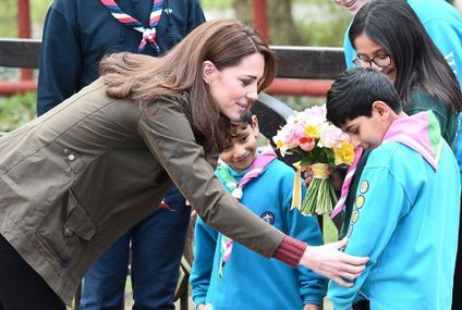 Kate Middleton's Supermom Charm Could Win Her a Scout Badge at Her Latest Outing