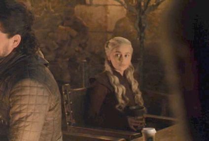 Yes, That Was a Coffee Cup in Game of Thrones, and No, We Can't Stop Laughing