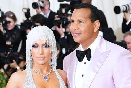 Jennifer Lopez and Alex Rodriguez's Sexy Met Gala Appearance Has Me Sweating