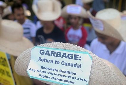 Canada agrees to take its trash back from the Philippines