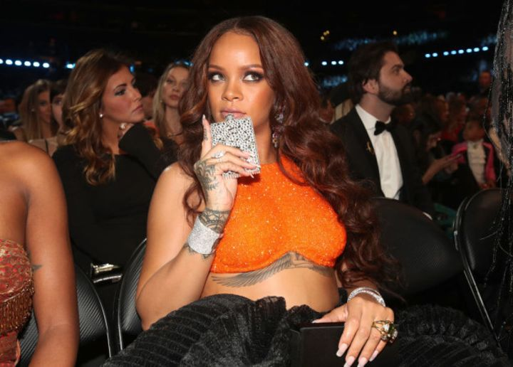 Now before we go any further, I'd like to remind you of the time Rihanna went to the Grammys and was seen in the crowd having a great time with a hip flask.