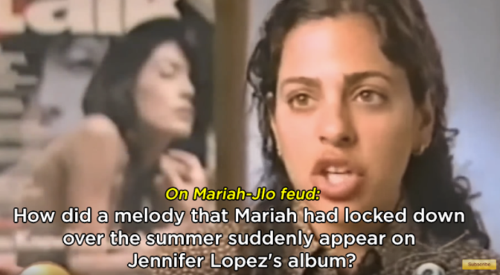 When Jennifer Lopez's (alleged) theft of Mariah Carey's melody in 2000 rivaled that of the Ocean's Eleven heist: