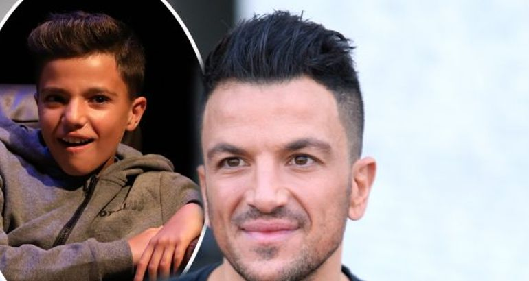 Peter Andre admits to snapping son Junior's Playstation cable when 12 year old wouldn't stop playing