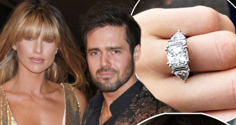 Spencer Matthews and Vogue Williams' 'wedding' details: From MIC star's public proposal, the model's stunning engagement ring to the luxurious venue
