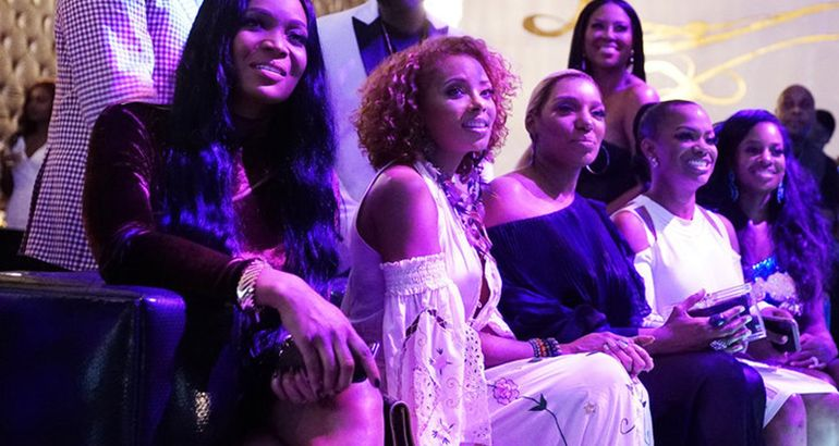 "Eva Marcille Is Now a Full Time Peach-Holding ""RHOA"" Cast Member (Report)"