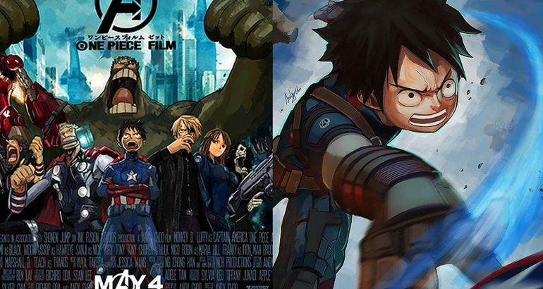 "This Artist Is Making An ""Avengers"" And ""One Piece"" Manga Mash-Up"